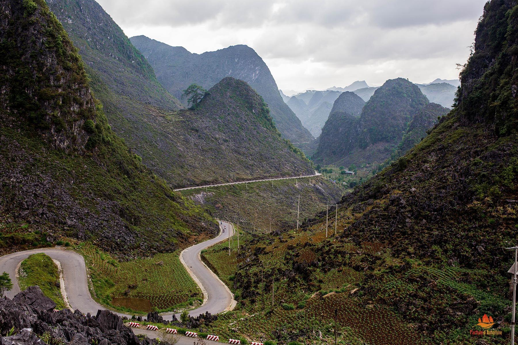 Montagnes de Ha Giang, Vietnam