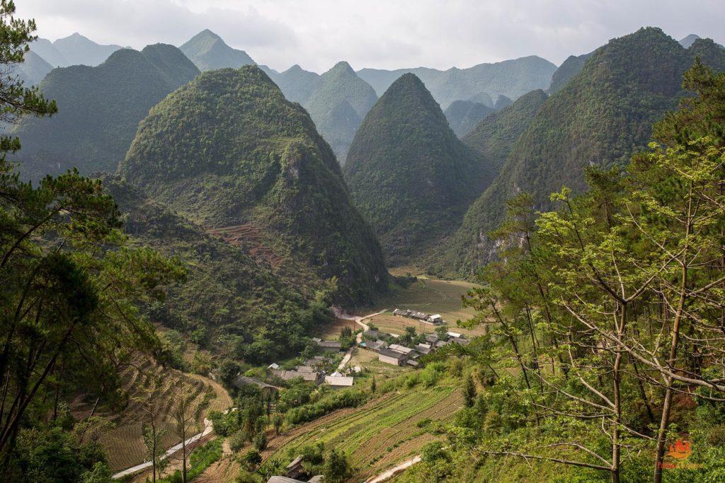Col de Quan Ba, Province de Ha Giang, Vietnam