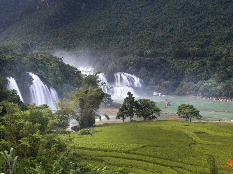 Chutes d'eau de Ban Gioc Vietnam