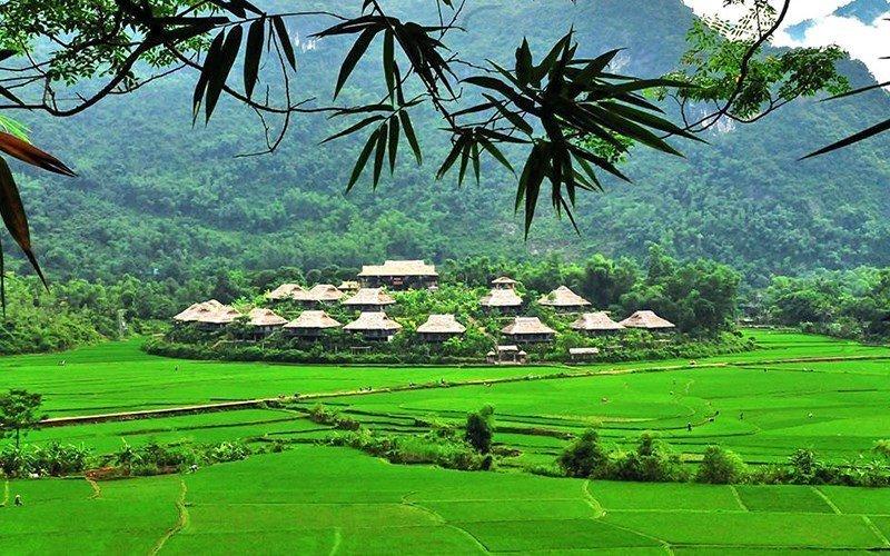 Ecolodge à Mai Chau, Vietnam