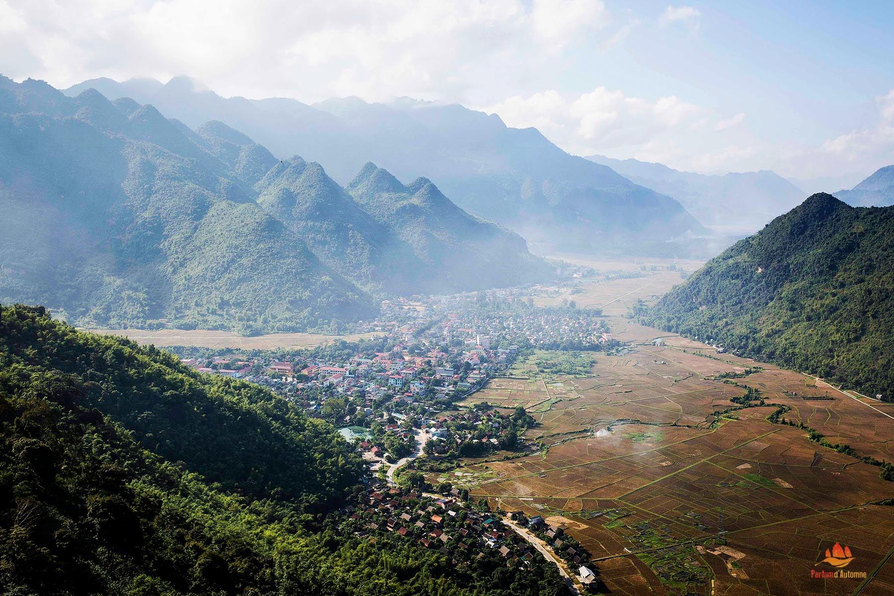 Vallé de Mai Chau, Vietnam