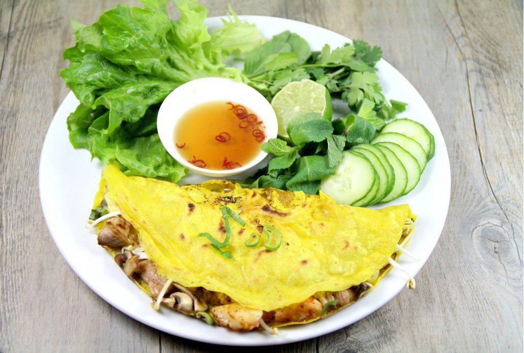 Bánh xèo, crepes vietnamiennes, Vietnam