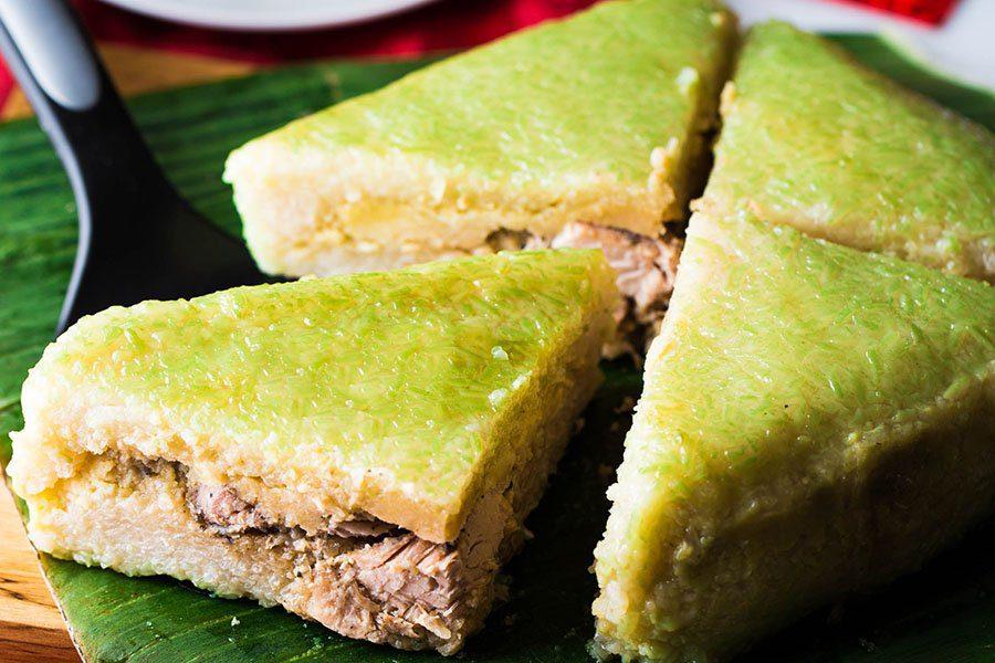 Le banh chung, repas de fête