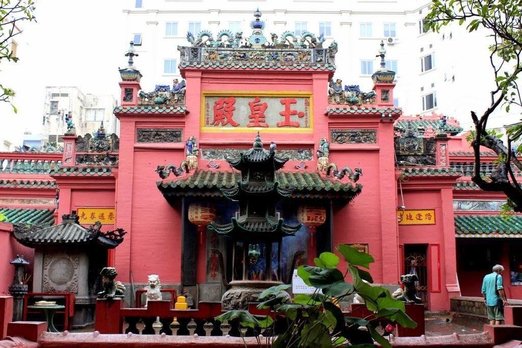 Temple de l'Empereur de Jade à Ho Chi Minh Ville, Vietnam