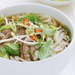 La soupe vietnamienne, Pho, plat typique du Nord Vietnam