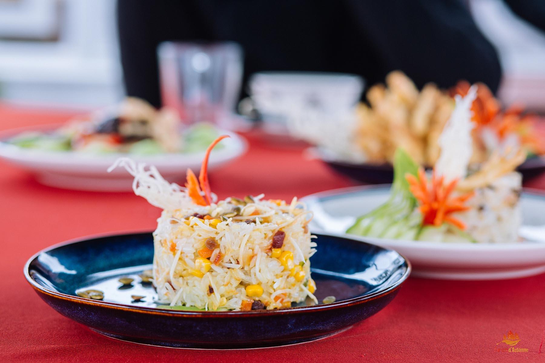 Plat végétarien Vietnam