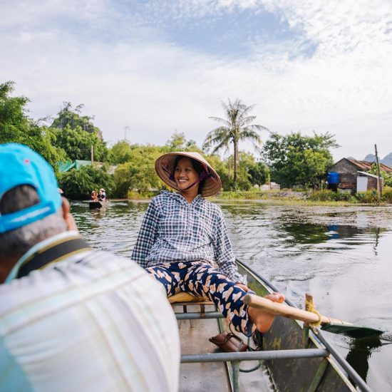 Rameuse a Tam Coc, Ninh Binh, Vietnam
