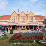 Vue extérieure de la gare de Dalat, Vietnam