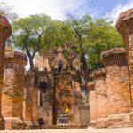 Un temple champa près de Nha Trang, Vietnam