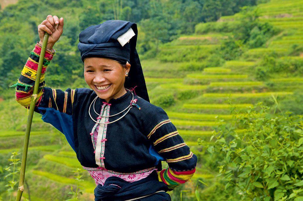 Femme Lolo au Vietnam