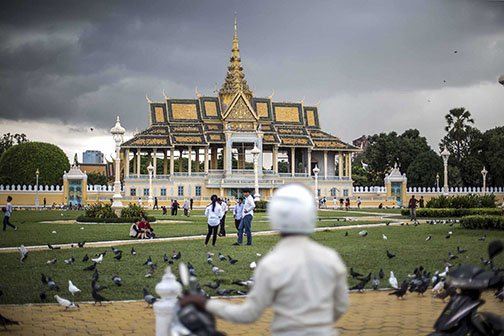 Palais Royal de Phnom Penh, Cambodge