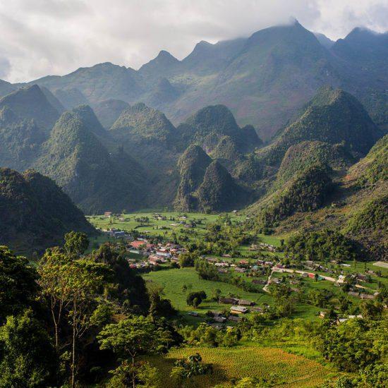 Paysages montagneux de la province de Ha Giang