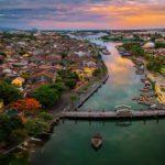 Photo aérienne de Hoi An, Vietnam