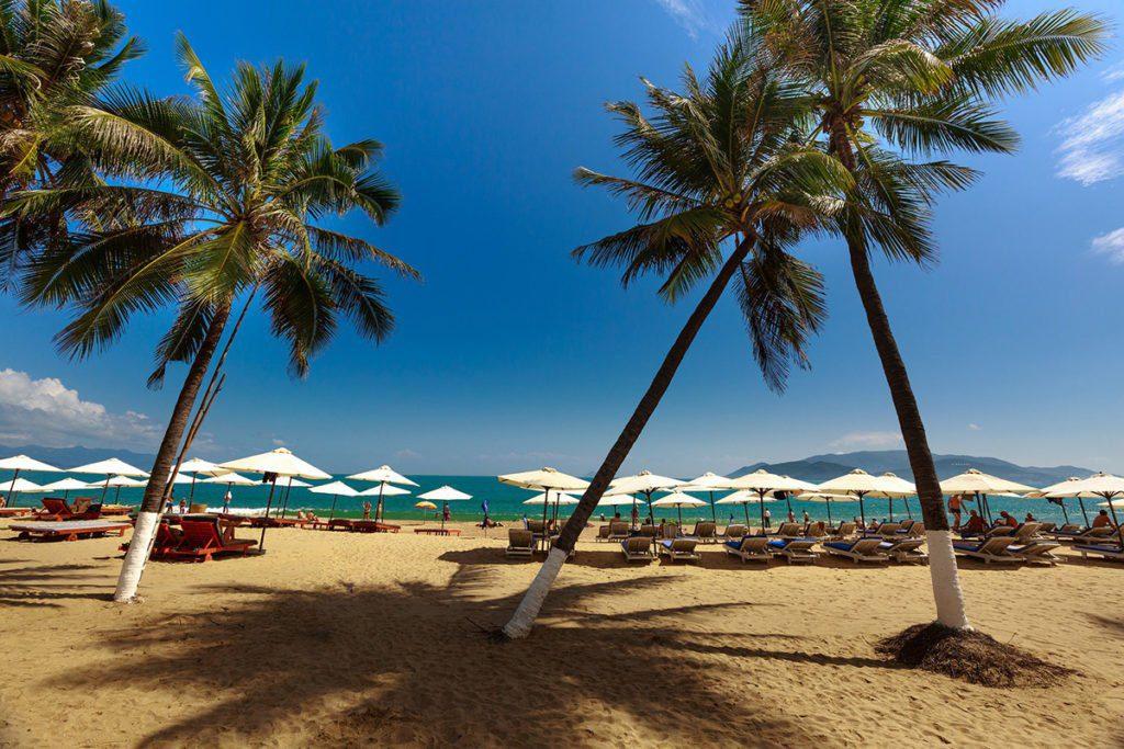 Les plages de Nha Trang, Vietnam