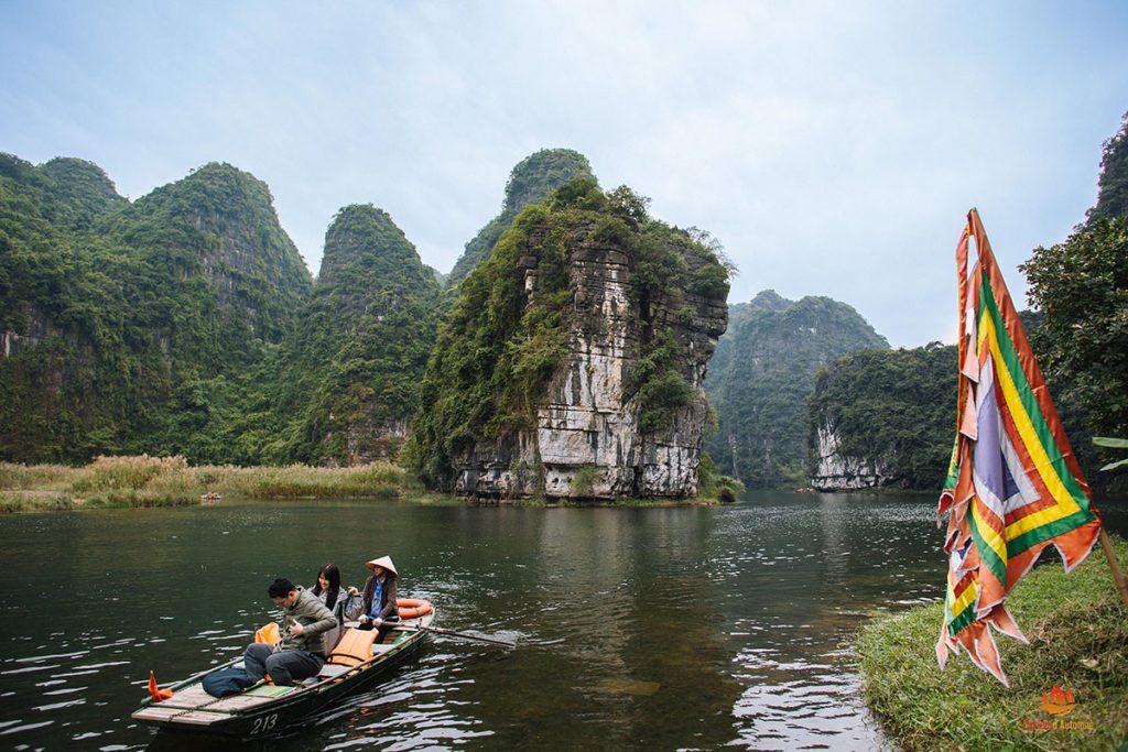 Paysage de Trang An, Ninh Binh, Vietnam