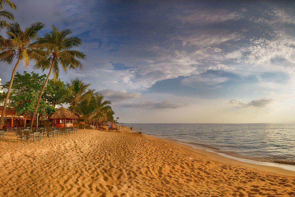Plage paradisiaque à Phu Quoc, Vietnam, Crédit photo Paul Szewczyk. Freestock