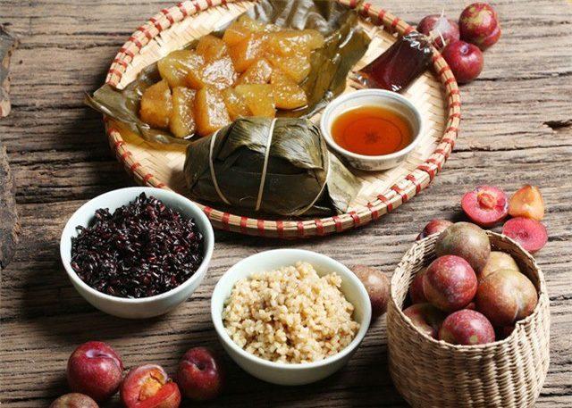 Plats traditionnels pour le Tet Doan Vietnam