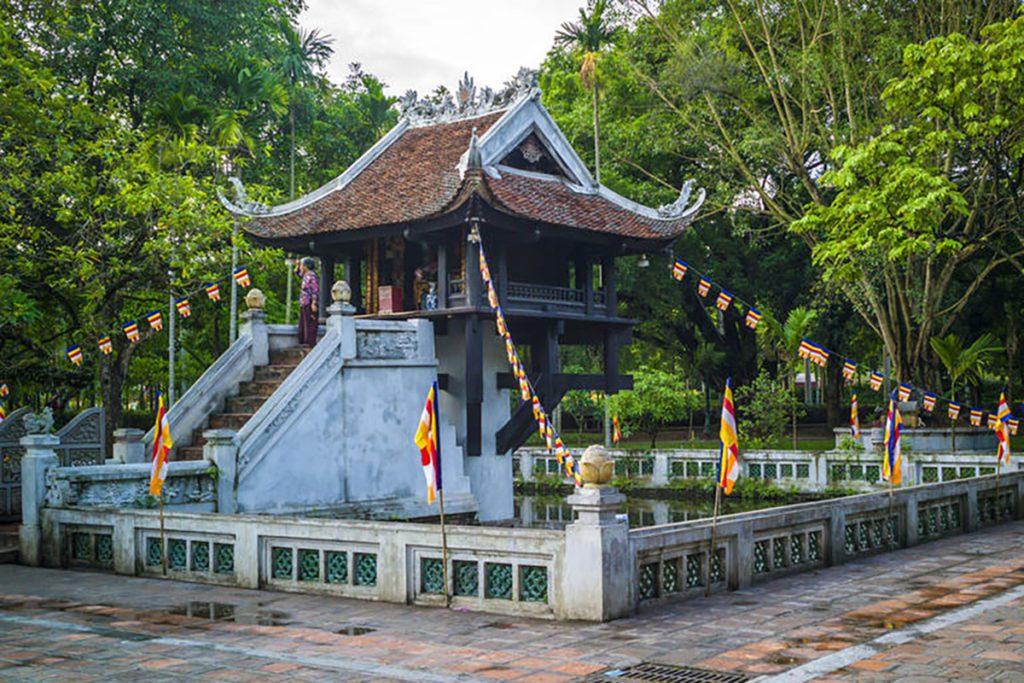 Pagode au Pilier Unique de Hanoi, Vietnam