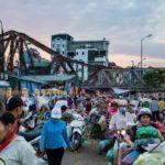 Marché Long Bien au petit matin, Hanoi, Vietnam