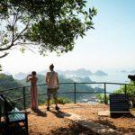 Vue sur la Baie de Lan Ha depuis le Fort Cannon, Ile de Cat Ba
