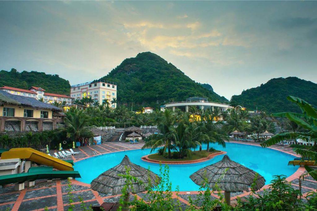 Le Resort vue de l'extérieur, Cat Ba, Vietnam