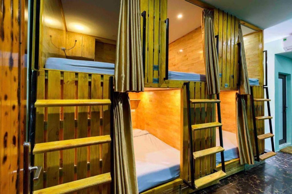 """Les dortoirs en forme de """"pod"""" ou """"capsules"""""""