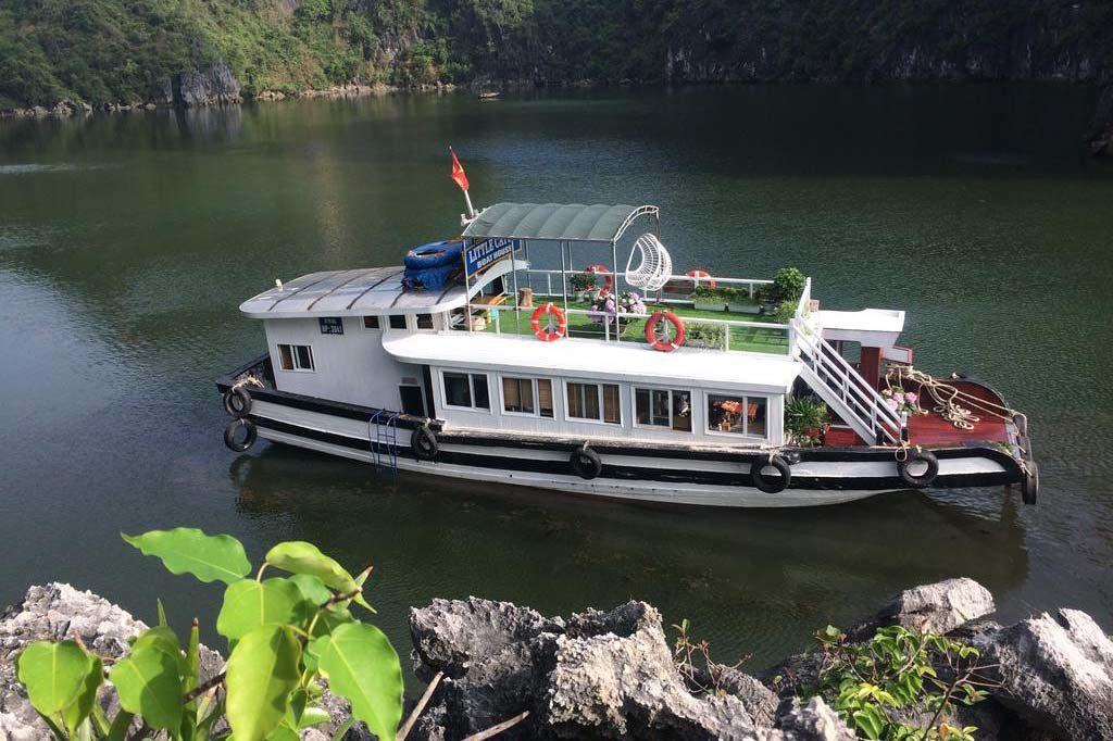 Le bateau Little Cat Ba Boat