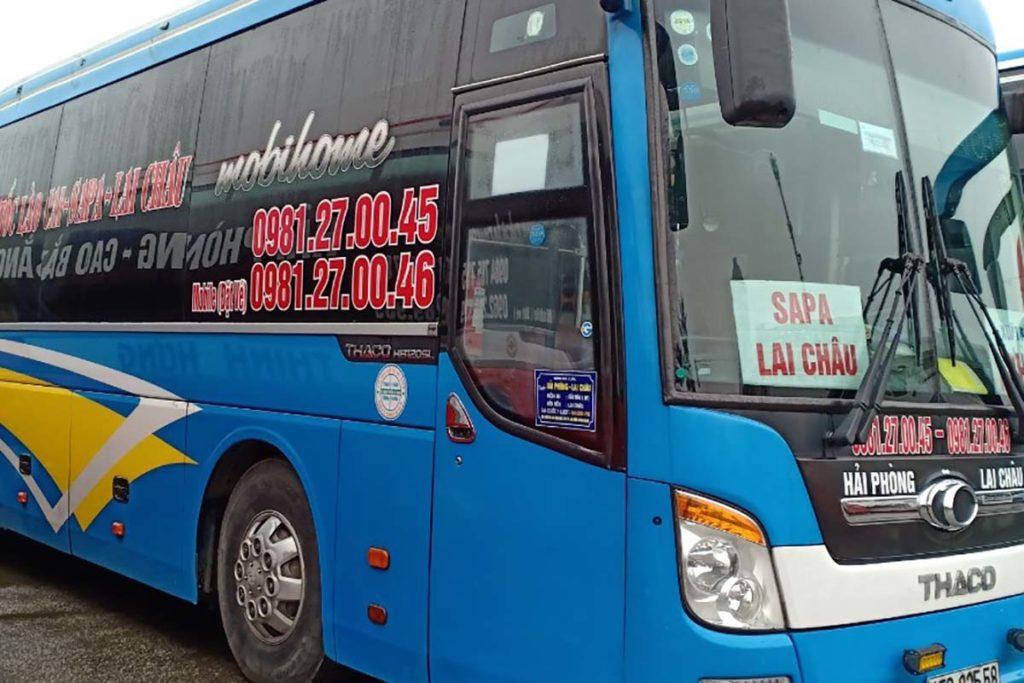 Bus de la compagnie Ket Doan, Vietnam