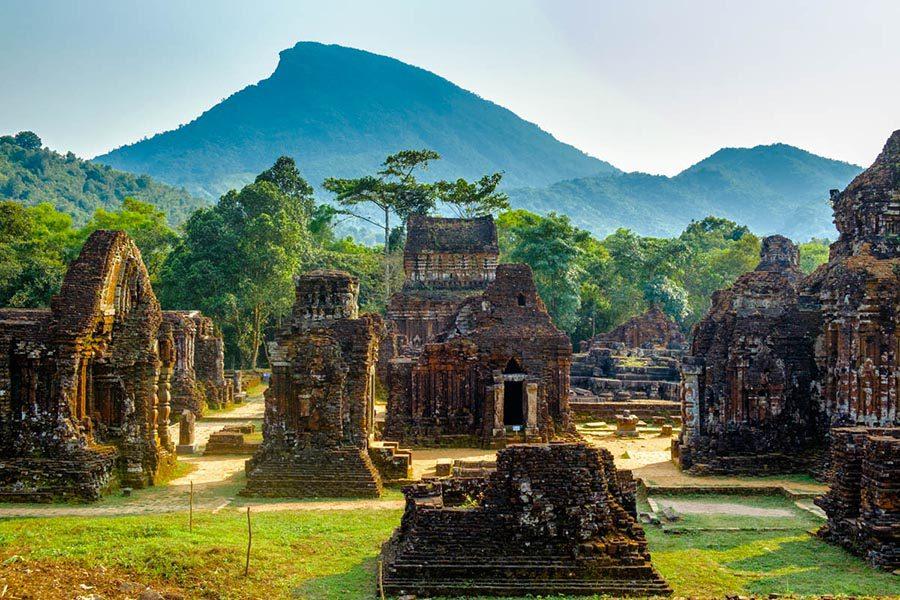 Le sanctuaire de My Son au Vietnam