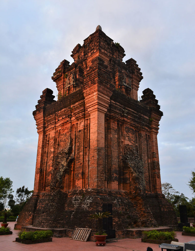 Architecture Cham à Tuy Hoa, Vietnam