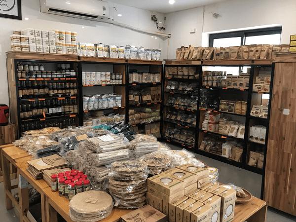 L'épicerie vegan de Homefood à Hanoi