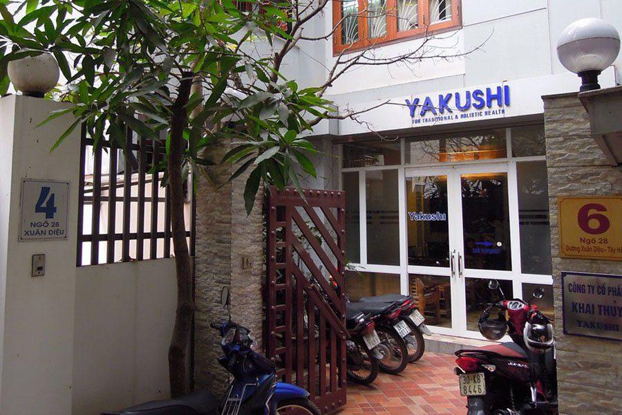 Entrée du centre Yakush, Hanoi
