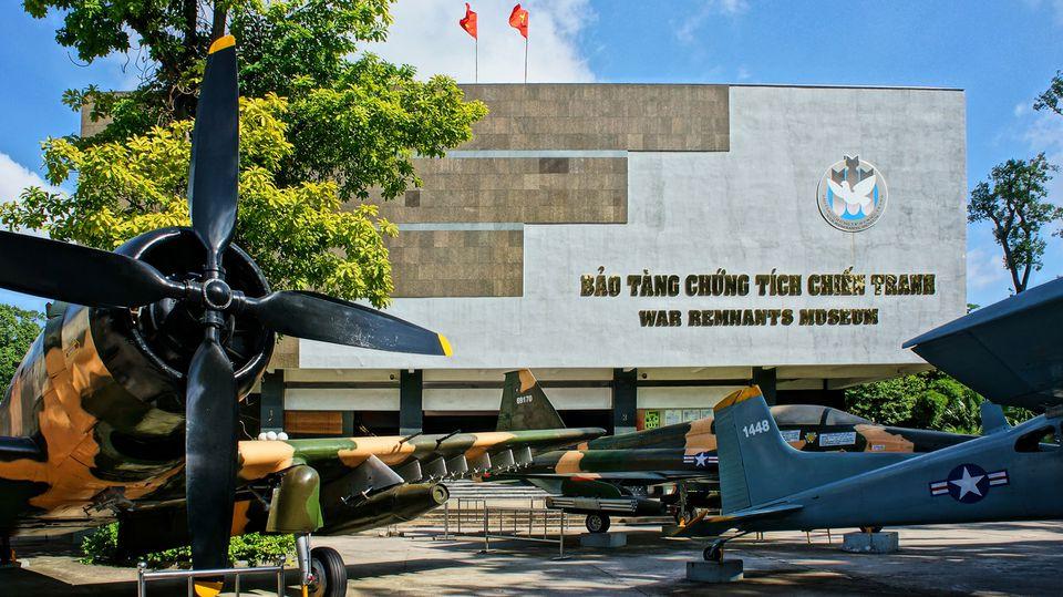 Musée des vestiges de la guerre, Ho Chi Minh Ville
