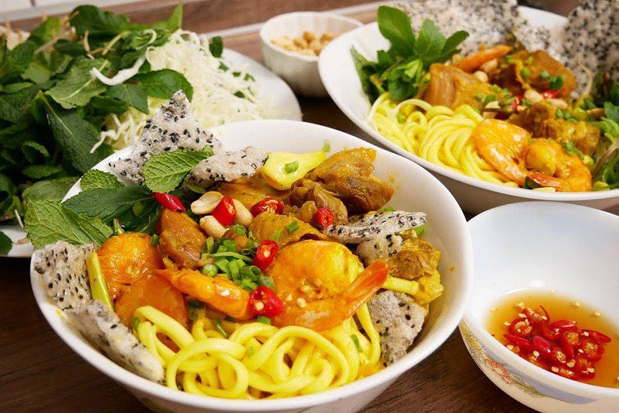 My Quang, plat typique de Hoi An, Vietnam