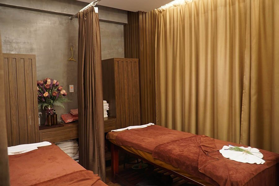 Les espaces de massage de Mido Spa, Hanoi