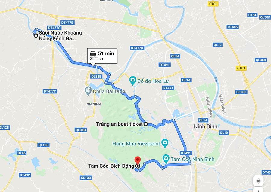 Sites touristiques dans les environs de Tam Coc, Ninh Binh