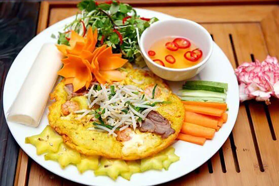Bánh khoai– la crêpe de Hue