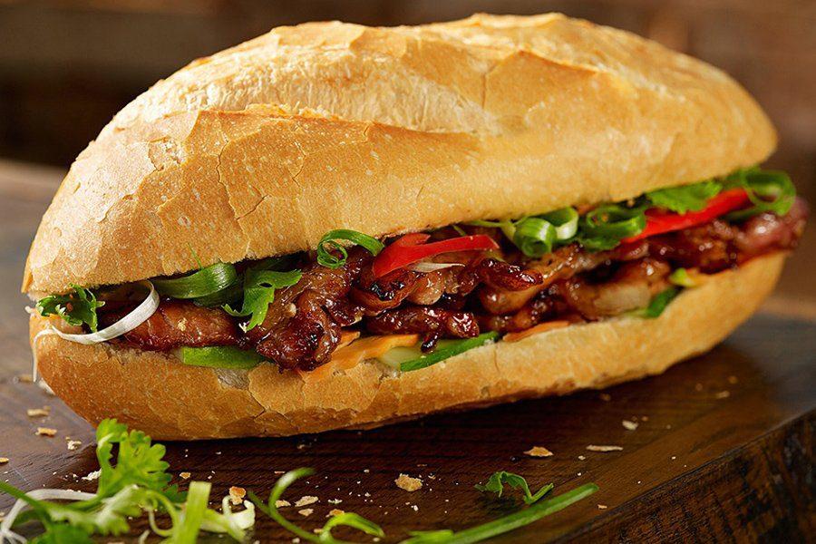 Le banh mi, sandwich vietnamien