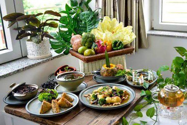 Les jolies présentations du restaurant Tue Linh Chay