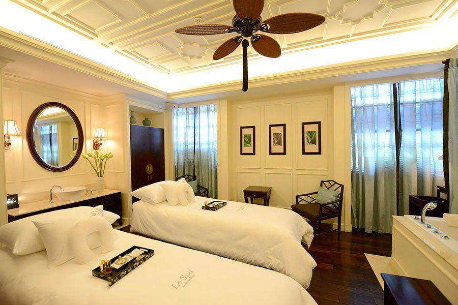 Spa de l'hôtel Métropole à Hanoi