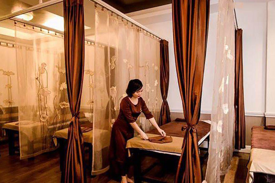 Salle de massage de Omamori Spa, Hanoi