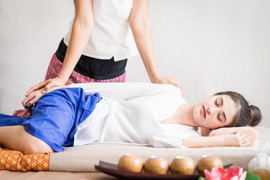 Le massage Thai