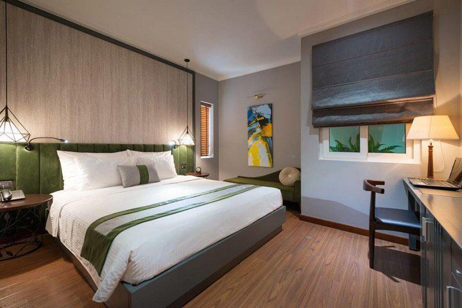 Chambre double de l'hôtel Essence Hanoi Hotel et Spa