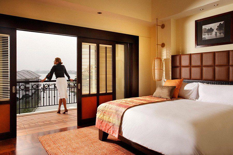 Chambre double avec vue sur le lac de l'ouest, Intercontinental Hotel