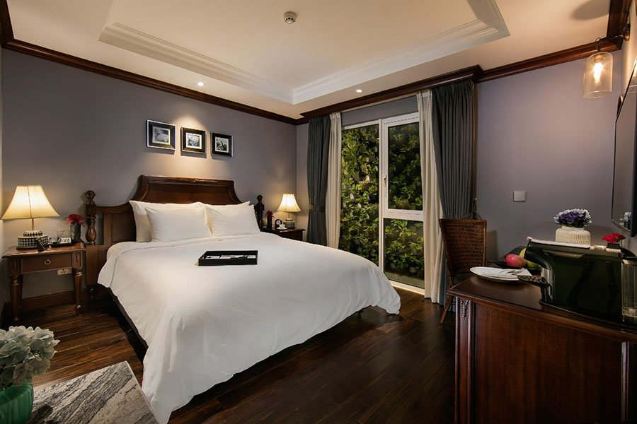 Design d'une chambre double à la Siesta Central, Hanoi