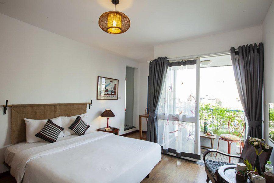 Chambre double à l'hôtel Maison d'Orient, Hanoi