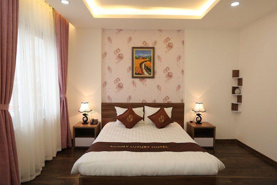 Chambre double à l'hôtel Sammy Luxury, Hanoi
