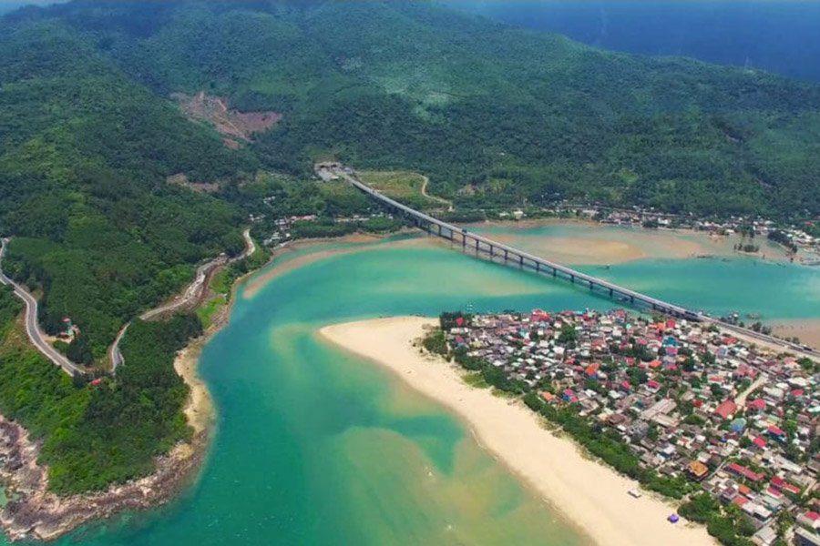 Lagune de Lang Co, Vietnam