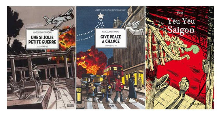 Première couverture des bandes dessinées sur le Vietnam