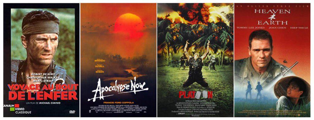 Affiches de films américains sur la guerre du Vietnam